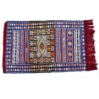 Marokkanischer Teppich Berber Kelim handgeknüpft TK02 130 x 75 cm