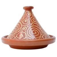 Tajine Escargot – Glasiert 2 bis 4 Personen D 30 cm