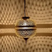 Orientalische Lampe aus Messing MHK_40cm