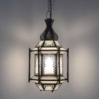 Orientalische Deckenlampe Prince Milk H 45 cm