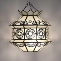 Orientalische Lampe Sat H 37 cm