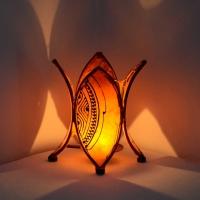 Orientalisches Teelicht Warda Rot