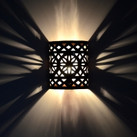 Marokkaniscghe Wandlampe EWLM10 100% Handarbeit